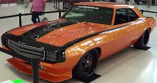 burnt orange camaro 1969 camaro machine