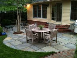 Rustic Wood Patio Furniture Flagstone Patio On Concrete For Patio Backyard Ideas With Rustic