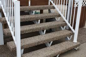 precast steps and deck pads