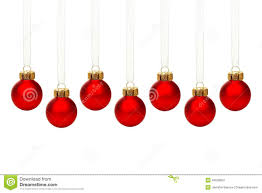 hanging ornaments isolated stock photo image 46528057