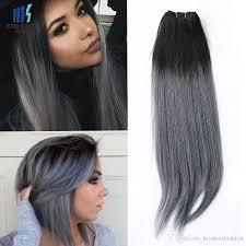 Human Hair Extensions Nz by Discount Dark Grey Hair Extensions 2017 Dark Grey Human Hair