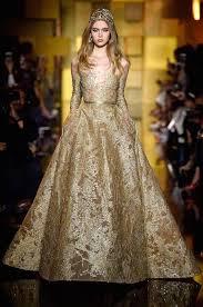 gold wedding dress brown and gold wedding dress
