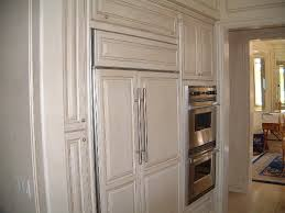 kitchen cabinets with cream and coffee glazed finish traditional