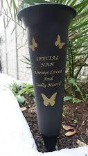In Loving Memory Vase Memorial Vases Ebay