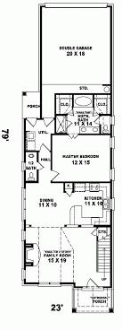 narrow house floor plans narrow lot house plans floor plan for top viac ako