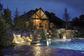 backyard beautiful backyard waterfall ideas flagstone patio