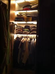 add automatic closet cupboard lights 4 steps