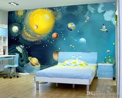 wallpapers for kids bedroom 3d painting universe printing mural photo wallpaper kids bedroom