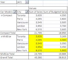 referencing an excel pivot table range using vba