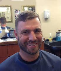 kevin frandsen he knows where to get a good haircut when he not