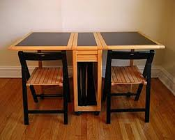 Dining Room Folding Chairs Nice Design Folding Dining Table With Chair Storage Marvellous