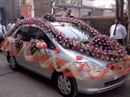 indian wedding car decoration weeding car decorated in india decorating of party