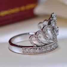 Crown Wedding Rings by Engagement Rings U2013 Evermarker