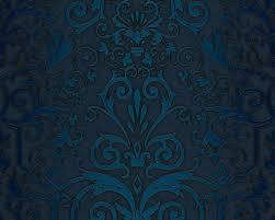 Schlafzimmer Tapete Blau Versace Home Satintapete 935454