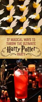 party ideas for 27 magical ideas for the harry potter party
