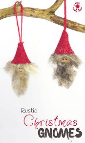rustic christmas gnomes kids craft room