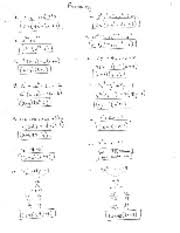 factoring review answers