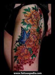 japanese flower tattoo designs for women