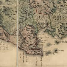 Map Jamaica Jamaica Map 1763 Framed Great Minds Art Historic U0026 Vintage Art