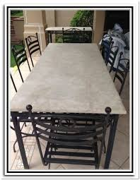 Travertine Patio Table Spectacular Travertine Patio Table L23 On Stunning Home Design