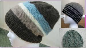 modelos modernos para gorras tejidas con gorras para hombres y tejidas en dos agujas imagenes youtube