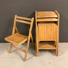 Vintage Outdoor Folding Chairs Seating Old Goods