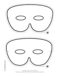 drama mask pattern use the printable outline for crafts creating