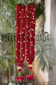 indian wedding flower garland jasminegarland jg112 vijayawada pelli poola