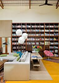 interior design extraordinary home library designs with open