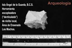 bahia de los angeles b c s sitio arqueologico replicas