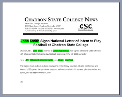 College National Letter Of Intent Letter Of Intent Readmedia Wiki