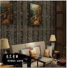 characteristics of wood veneer pebble wallpaper chinese retro