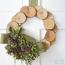 Christmas Tree Wreath Form - how to make a creative christmas wreath without a wreath form