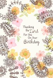 thank the lord for mom religious birthday card greeting cards