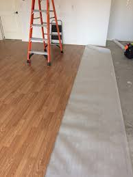 Garage Laminate Flooring Converting The Garage Page 3