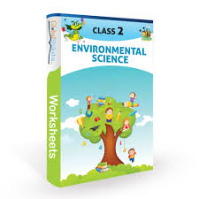 buy worksheets for class 2 environmental science evs online in