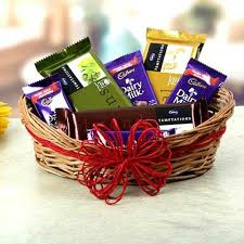 chocolate basket delivery send online tempting chocolate basket delivery to jaipur