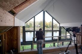 grand design home show london uk s first hibious house can float on floodwater like a boat