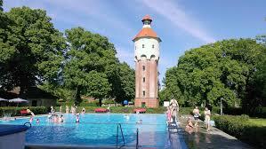 Stein Therme Bad Belzig Freibad Niemegk Mit Wasserturm Lust Auf Fläming