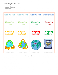 earth day activities eco friendly printables