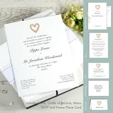 cheap wedding invitations packs wedding stationery sles honeytree