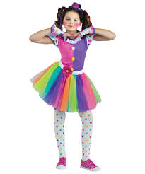 Girls Halloween Costumes Kids Clownin Girls Costume Girls Costume