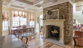 living room interesting stone fireplaces for home interior design