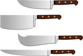 couperet de cuisine image vectorielle gratuite couteau couperet lame image
