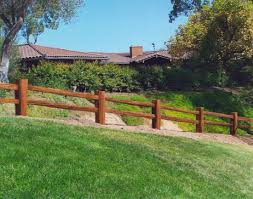 wooden split rail fence to create rustic look garden u2014 peiranos fences