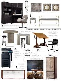 13 art and production room design collage parsons interior
