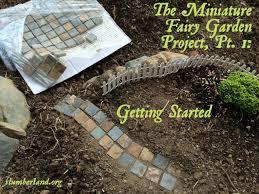 the miniature fairy garden project getting started slumberland