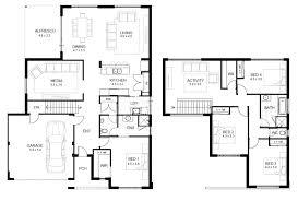 two storey residential floor plan sle floor plans for houses lovely sle floor plans sle floor