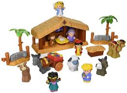 get the fisher price little people nativity set for as low as