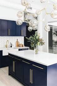 navy blue kitchen cabinet design 21 amazing blue kitchen cabinet ideas in 2021 houszed